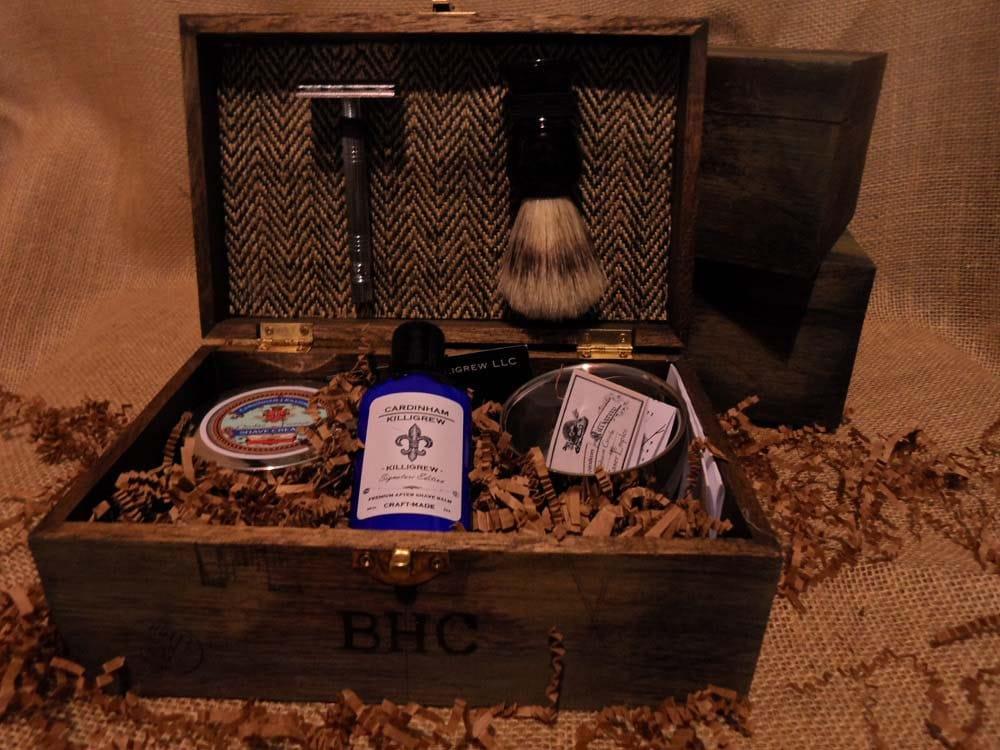 Unique Groomsmen Gift Box Shave Kit for by CardinhamKilligrew