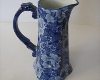 Vintage Ceramic Regency Iron Stone Jug /MEMsArtShop.
