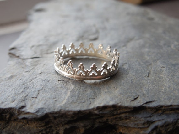 items similar to crown ring princess prince ring