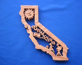 State of California Wall Hanging