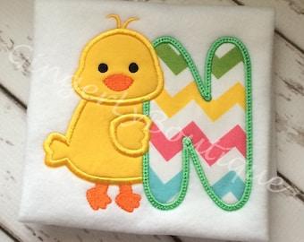 Baby Chick Alpha Shirt or Bodysuit, Easter Shirt, Easter Chick Shirt, Baby Chick Shirt, Easter Egg Hunt Shirt, Easter shirt for Girl or Boy