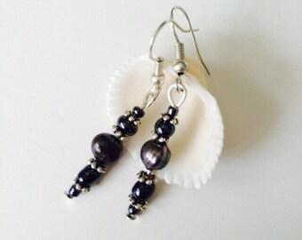 Freswater Pearls Earrings.