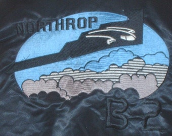 US Air Force/Northrop B-2 Spirit Stealth Bomber jacket; size Extra-Large; circa 1980s-2000s