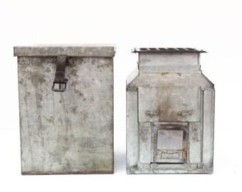 Salesman's Sample Stove in Original Tin Case