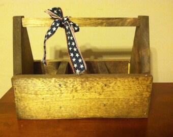 Primitive Wooden tool box