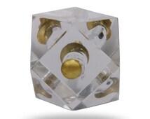 Popular items for decorative door knob on etsy for Glass bureau knobs