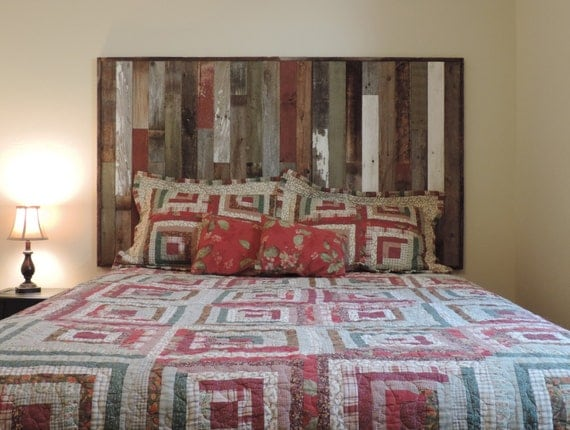 Reclaimed Wood Headboard Panel For King Bed 82 5 X