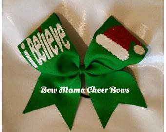 Christmas Cheer Bow - iBelieve