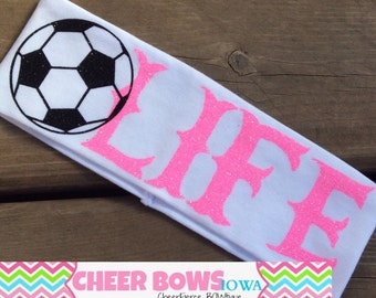 SOCCER Headband - WHITE