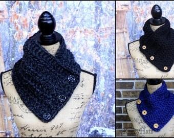 Crochet neck warmer.Size:Teen/Adult