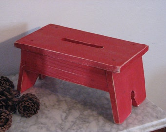 Small Farm House Step Stool