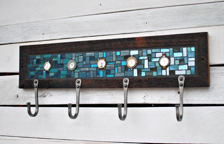 wall coat rack entryway coat hooks mosaic coat rack. Black Bedroom Furniture Sets. Home Design Ideas