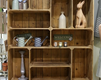 The Pallet Box Shelf Unit