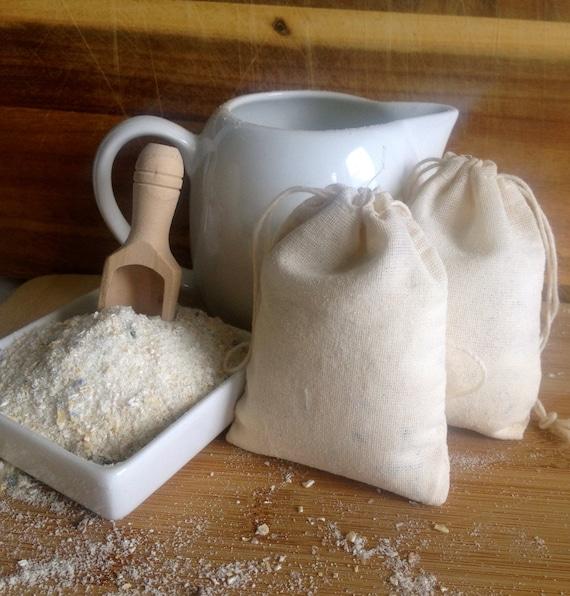 Milk & Oatmeal Bath Milk Soak. Skin Soothing. Exfoliating. Lavender ...