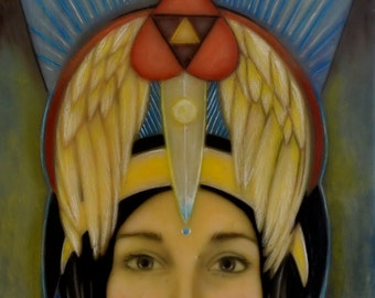 """Original, Limited Edition Giclee Print """"Queen of Everything"""""""