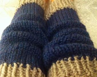 Bluegrass Knitted Leg Warmers