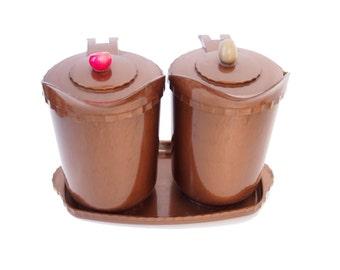 1 X Ceramic Cat Measuring Cups Baking Bowls