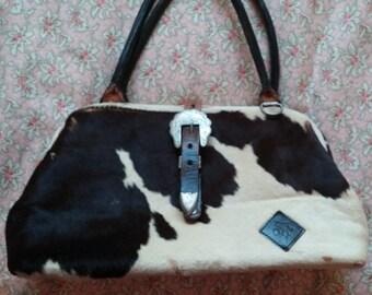 """Vintage Circle Y Pony Fur Handbag """"REDUCED"""""""