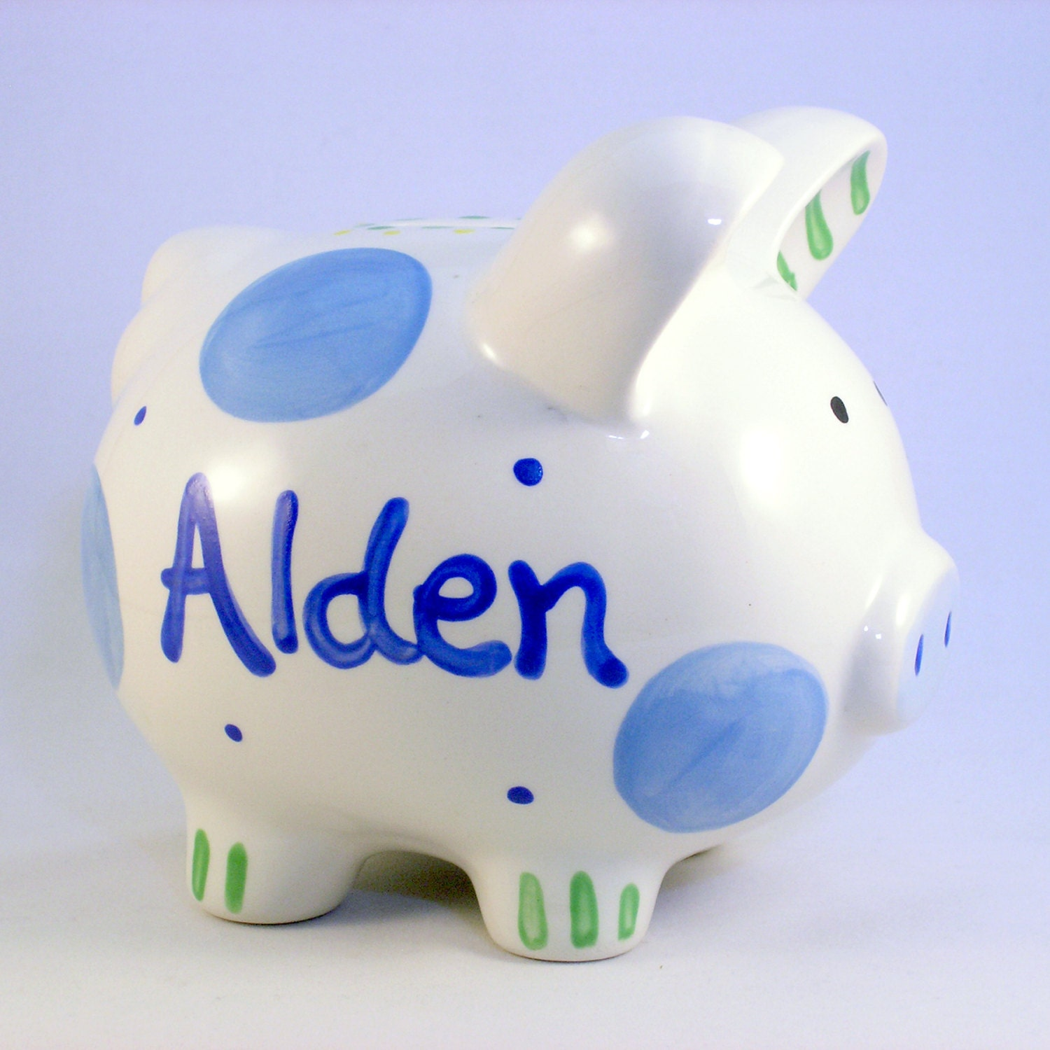Personalized piggy bank boy piggy banks personalized - Coin banks for boys ...