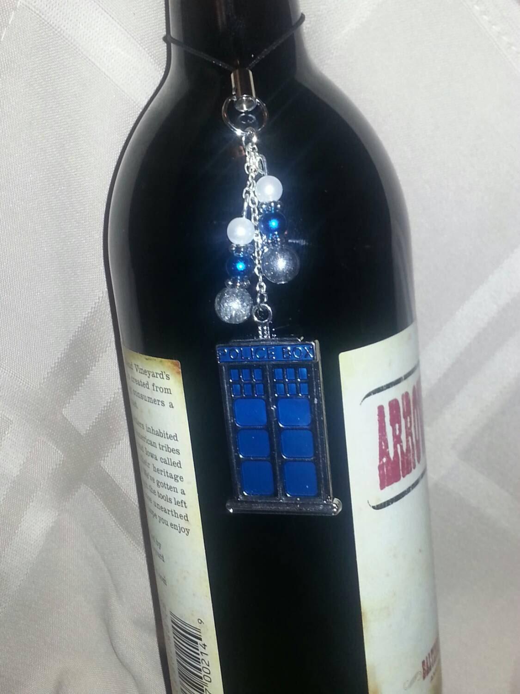 box wine bottle charm
