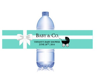 48 Baby and Co. Baby Shower Water Bottle Labels