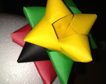 7 pack- Eco-friendly (Optional)  Paper gift bows