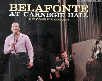 Harry Belafonte - Belafonte At Carnegie Hall - The Complete Concert - vinyl record