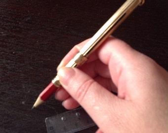 Samuel morden &co 9ct gold pencil