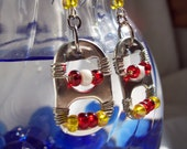 Kansas City Chiefs Tabs Earrings