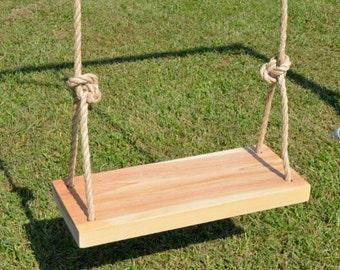 popular items for wood tree swings on etsy. Black Bedroom Furniture Sets. Home Design Ideas