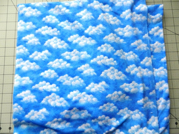 Knitting Essentials White Sparkle Wool : White clouds blue sky with sparkle knit by bluecollarquilts