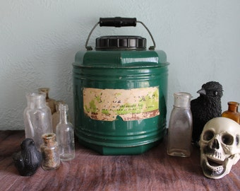 Large Green Thermos