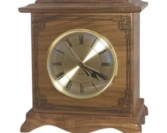 Walnut Renaissance Wood Cremation Urn