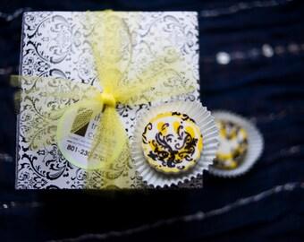 Box of 8 Sherlock inspired lemon truffles