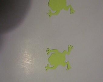 little frog die cuts