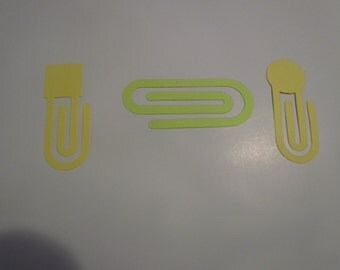 paper clip die cuts