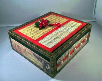 Upcycled Cigar Box