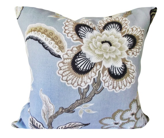 Schumacher Hothouse Flowers Mineral Decorative By