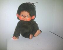 Monchhichi Sekiguchi Monkey With Pacifier