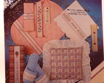 Ribband cross stitch charts by Linda Dennis