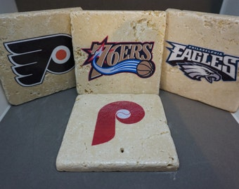 Philadelphia Sports Team Coasters