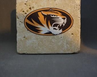 Missouri Tigers Coaster (4-Pack)