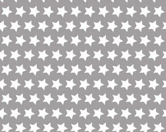 Gray Stars, from Riley Blake Designs