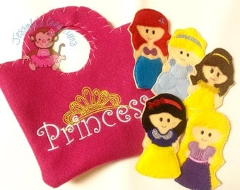 Princess Finger Puppet Set