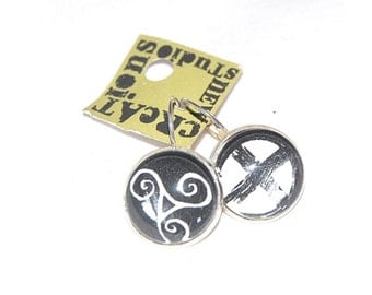 Signs and Symbols Artisan Crafted Earrings -
