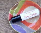 Yum Cookies Cologne Oil-Easy Roll On Perfume-Warm Oatmeal + Honey Rich Scent-Convenient Travel Size-Gifts for Her