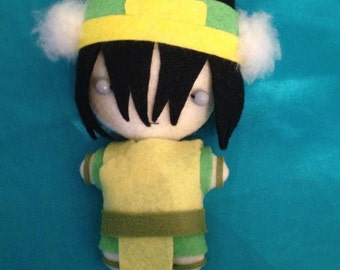 Avatar The Last Airbender Plush - Toph - MADE TO ORDER