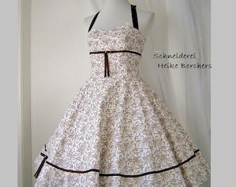 "Wedding dress to the rockabilly petticoat 50s dress ""Eloise"""