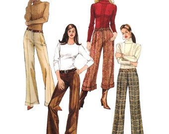 McCall's Sewing Pattern M4926 Misses'/Misses' Petite Pants Used