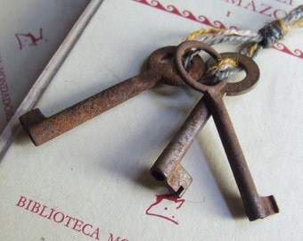 My shop's keys. Series of three ancient keys, K03